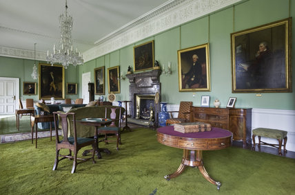 The Saloon at Dunham Massey, Cheshire