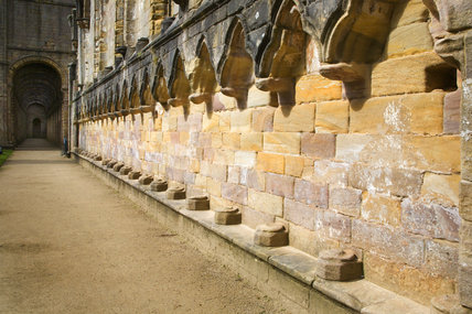 The Choir at  Fountains Abbey, Yorkshire