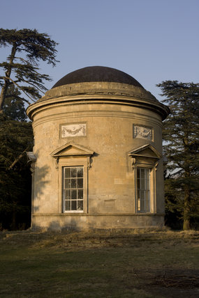 The Rotunda, one of Capability Brown's