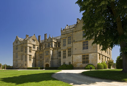 The west front of Montacute House, Somerset