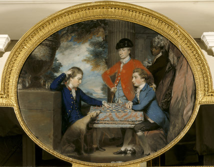 GROUP OF MEN PLAYING CHESS