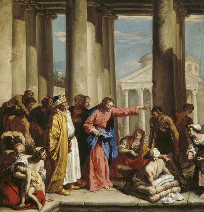 THE MIRACLE OF THE BETHESDA by Sebastiano Ricci (1659-1734)