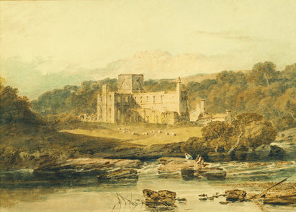 BRINKBURN PRIORY by J.M.W.Turner (1775-1851)