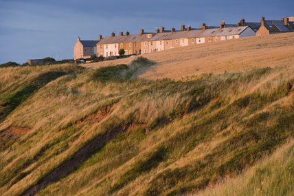 Housing on the Whitehaven Coast, Cumbria