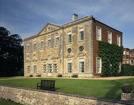 View of the West Front of Claydon House