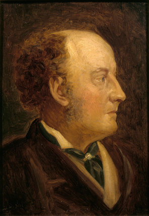 Self portrait by Sir John Everett Millais (1829 -1896) initialled and dated 1878
