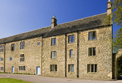 The Stableyard cottages at Hardwick Hall, Derbyshire