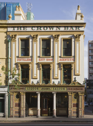 The Crown Bar, Great Victoria Street, Belfast