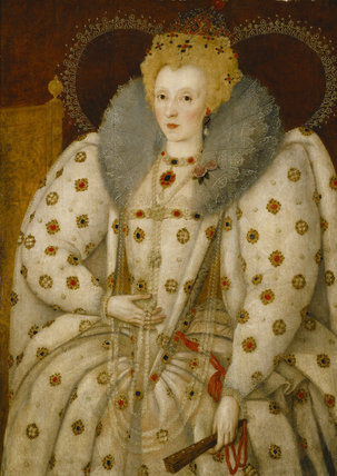 Queen Elizabeth I Derived From The Ditchley Portrait C