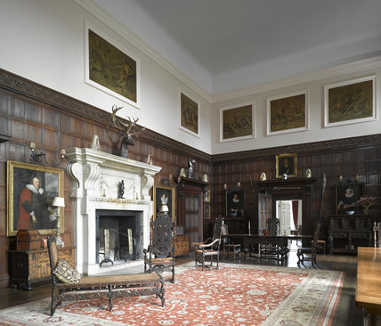 The Great Hall at Melford Hall, Long Melford, Suffolk