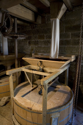 Restored Machinery Inside Stainsby Mill A Working Water