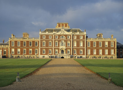 The south front of Wimpole Hall