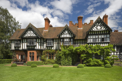 The West Wing of Wightwick Manor, Wolverhampton, West Midlands