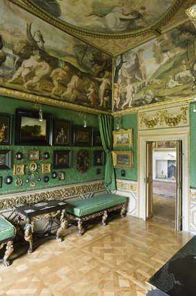 The Green Closet at Ham House, Richmond-upon-Thames