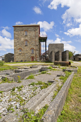 Cornish Mines & Engines at Pool, near Redruth, Cornwall
