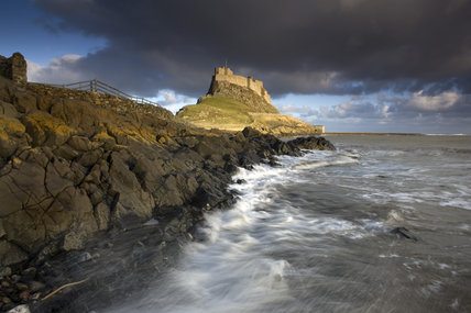 Lindisfarne Castle Holy Island Northumberland