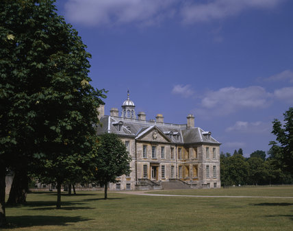 View of the south front of Belton, seen from the south west