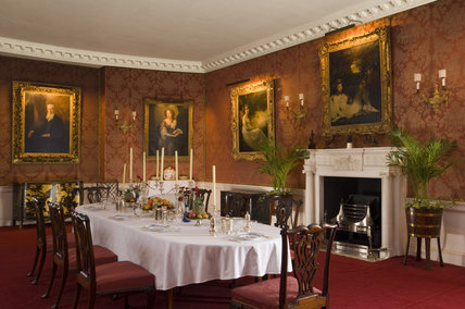 The Dining Room at Polesden Lacey, nr Dorking, Surrey