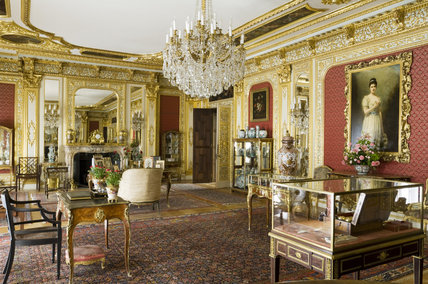 The Saloon at Polesden Lacey, nr Dorking, Surrey