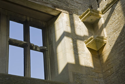 Close view of part of Lyveden New Bield, Peterborough, Northamptonshire