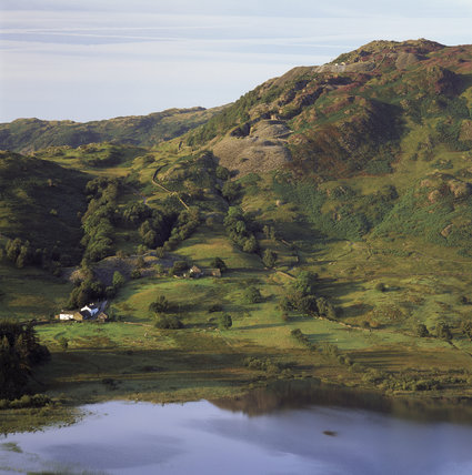 (FL) Little Langdale Tarn in Cumbria