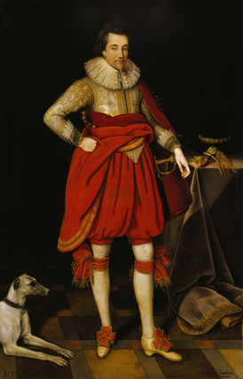 SIR THOMAS PARKER by Marcus Geeraerts, 1620
