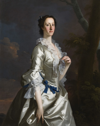 MARY (de CARDONNEL) COUNTESS TALBOT (1719-1787), by Allan Ramsey (1713-1784)