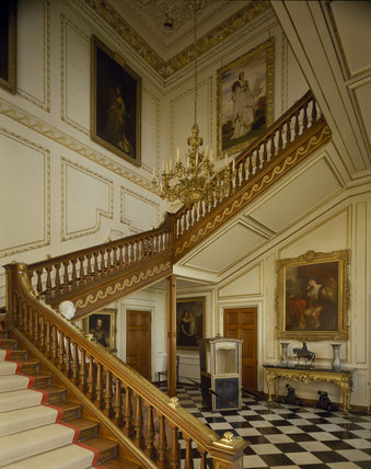 The Staircase Hall At Belton House Belton House At
