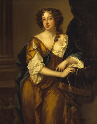 LADY WRIOTHESLEY, COUNTESS OF MONTAGU, studio of Peter Lely (1618-1680) from the Dining Room at Polesden Lacey