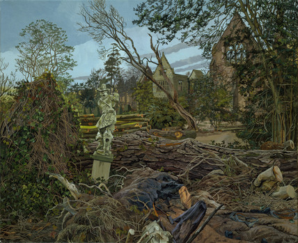 AFTER THE HURRICANE, NYMANS, WEST SUSSEX (II) by Cherryl Fountain
