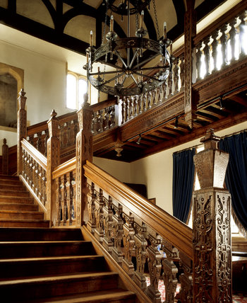 Barrington Court - The Stair Hall