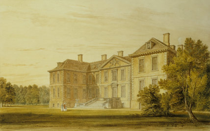 NORTH FRONT OF BELTON by John Buckler