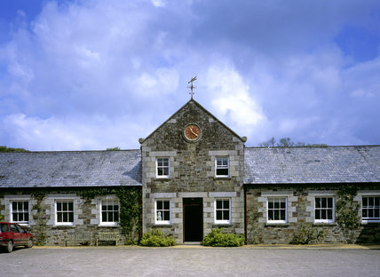 The South Front of the Cornwall Regional Offices at Lanhydrock