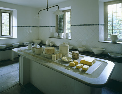 The dairy at Lanhydrock