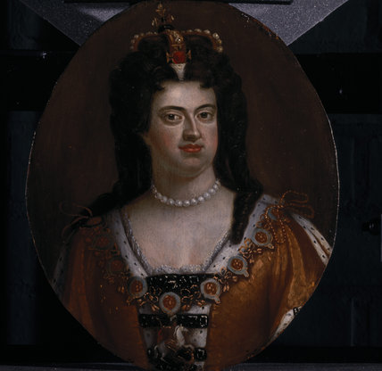 PORTRAIT OF QUEEN ANNE, English early eighteenth century, post-conservation at Lyme Park (LYM/P/11 a-f)