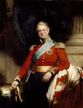 PORTRAIT OF THE 1ST LORD BROWNLOW, by Martin Archer Shee, post-conservation at Belton House (BEL/P/21)