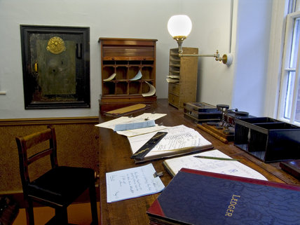 The Manager's Office at Quarry Bank Mill, Styal