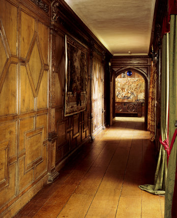 Barrington Court - The corridor looking towards the entrance passage