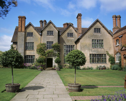 East front and East court of Packwood House, Solihull