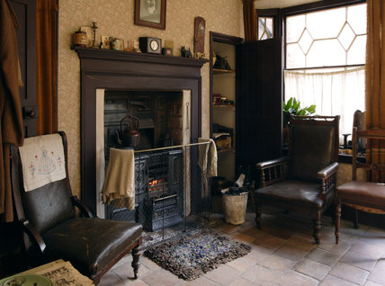 The Front Parlour Of The 1930s House At The Birmingham