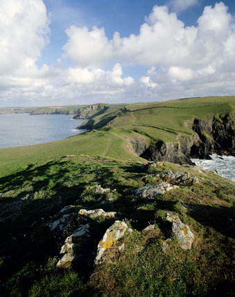 View from Pentire head, Cornwall