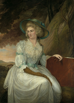 THE HON. CHARLOTTE CLIVE 1787 by Charles Grignion (1754-1804)