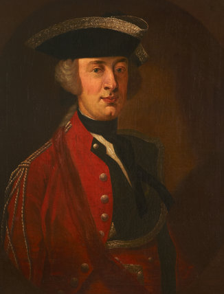 An Unknown Officer (Ralph Gore,1st Earl of Rosse?) (1725-1802)
