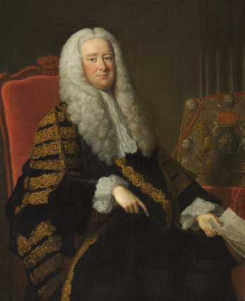 Sir Philip Yorke, 1st Earl of Hardwicke, Lord Chancellor, PC, FRS
