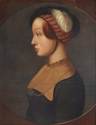An Imaginary Portrait of Lady Jane Grey (1537 - 1554)