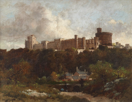 View of Windsor Castle from the North-east