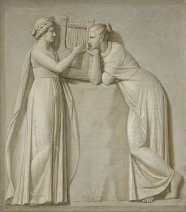 The Muses: Terpsichore and Polyhymnia