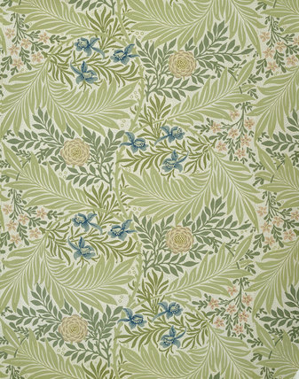 Larkspur Wallpaper Design By William Morris At National Trust