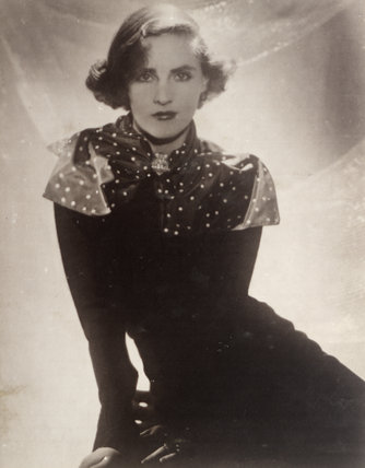 An Archive Black and White Photograph of Marchioness of Londonderry, 1937.