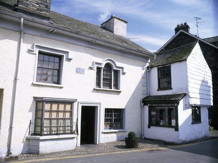 William Heelis' solicitors office, now the Beatrix Potter Gallery, Hawkshead